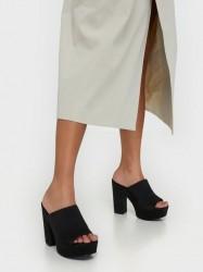 NLY Shoes Pedestal Mule High Heel Sort