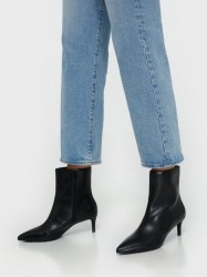 NLY Shoes Pointy Stiletto Boot Heel