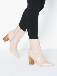 NLY Shoes Pointy Wood Heel Boot Heel