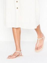 NLY Shoes Simple Sandal Sandaler Beige