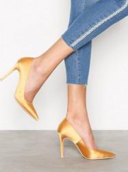 NLY Shoes Slim Pump Pumps Gul