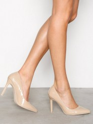 NLY Shoes Slim Pump Pumps Sand Beige