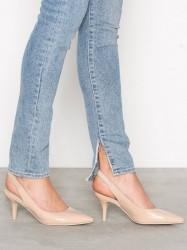 NLY Shoes Slingback Pump Pumps Beige