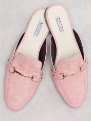 NLY Shoes Slip in Loafer Loafers Rosa/Lyserød