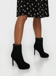 NLY Shoes Studded Platform Boot Heel