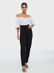 NLY Trend Easy Paperbag Pants Bukser