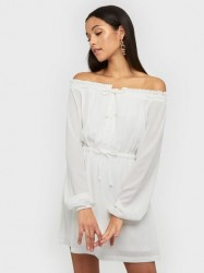 NLY Trend Flirty Drawstring Dress Skater kjoler