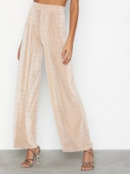 NLY Trend Glamorous Palazzo Pants Bukser Champagne