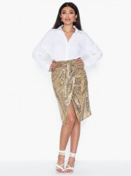 NLY Trend Goldie Midi Skirt Midi nederdele