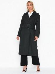 NLY Trend Long Belted Coat Frakker