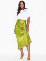 NLY Trend Long Satin Skirt Maxinederdele