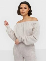 NLY Trend Off Shoulder Sweat Sweatshirts