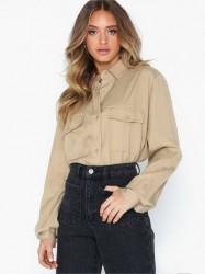 NLY Trend Oversize Safari Shirt Skjorter
