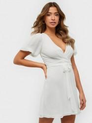 NLY Trend Puff Sleeve Dress Skater kjoler