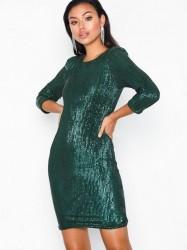 NLY Trend Sequin Power Dress Pailletkjoler Grøn