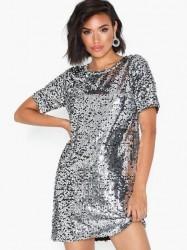 NLY Trend Sequin Shift Dress Pailletkjoler
