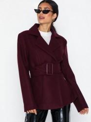 NLY Trend Short Belted Jacket Øvrige jakker