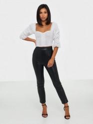 NLY Trend Stunning Pu Pants Jakkesæt bukser