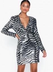 NLY Trend Zebra Sequin Dress Pailletkjoler