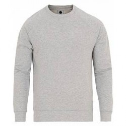 NN07 Canyon Crew Neck Sweater Grey Melange