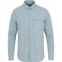 NN07 Falk 5849 Denim Shirt Light Washed Blue