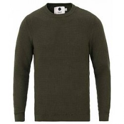 NN07 Jacob Knitted Pullover Army