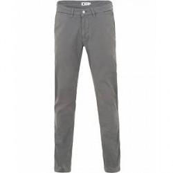 NN07 Marco 1200 Stretch Chinos Medium Grey