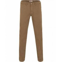 NN07 Marco 1200 Stretch Chinos Stone Brown