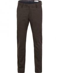 NN07 New Theo 1249 Wool Trousers Brown