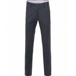 NN07 New Theo 1249 Wool Trousers Light Navy