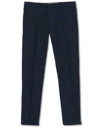 NN07 Scott Regular Fit Stretch Trousers Navy Blue men W30L34 Blå