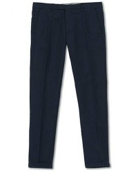 NN07 Scott Regular Fit Stretch Trousers Navy Blue men W32L32 Blå
