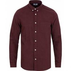 NN07 Sixten 5722 Flannel Shirt Oxblood