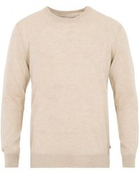 NN07 Ted Extra Fine Merino Crew Neck Pullover Light Khaki men M Beige