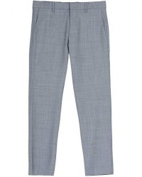 NN07 Theo Wool Trousers Grey Melange men W29L32 Grå
