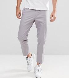 Noak Skinny Cropped Trouser - Grey