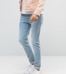 Noak Skinny Jeans In Light Blue Wash - Blue