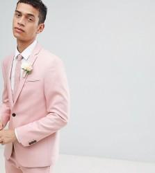 Noak skinny wedding suit jacket - Pink