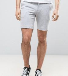 Noak Slim Fit Jersey Shorts - Grey