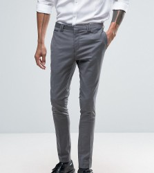 Noak Super Skinny Suit Trousers - Grey