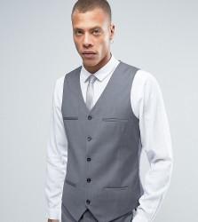 Noak Super Skinny Suit Waistcoat - Grey