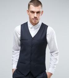 Noak Super Skinny Suit Waistcoat - Navy