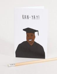 Nocturnal Paper Kan-Yay Congratulations Graduation Card - Multi