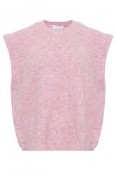 Noella - Vest - Frenchie Knit Vest - Rose Melange