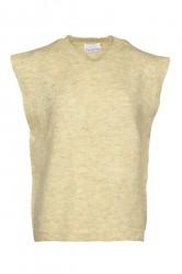 Noella - Vest - Frenchie Knit Vest - Yellow Melange