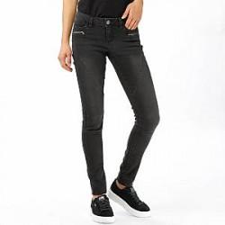Noisy May Jeans - Ewe LW SS Zip Biker