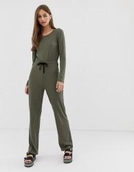 Noisy May ribbed jumpsuit - Green