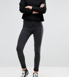 Noisy May Tall Mid Rise Skinny Jean - Black