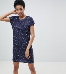 Noisy May Tall Star Print Dress - Navy