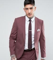 Noose & Monkey Super Skinny Suit Jacket - Purple